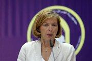 Francúzska ministerka obrany Florence Parlyová.