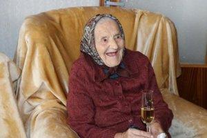 Najstaršia Prešovčanka Anna Dolhyová oslávila 103 rokov.
