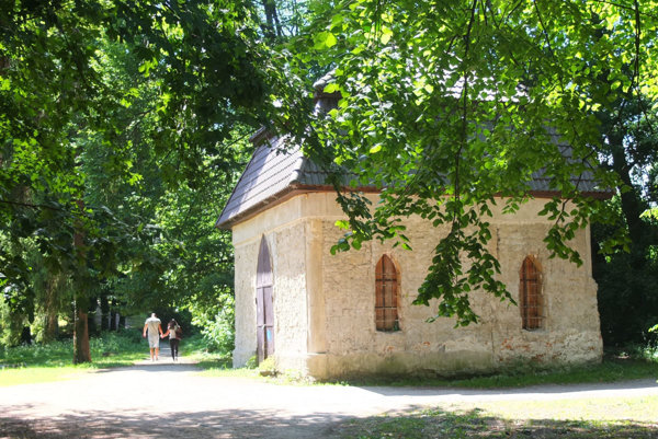 Historický pavilón.