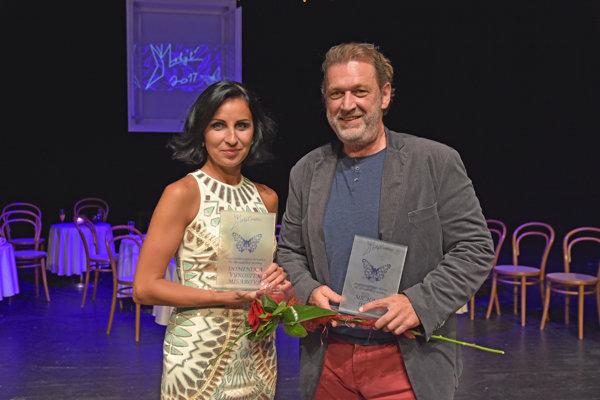 Víťazi tohtoročnej diváckej ankety Dominika Výrostek Misárová a Michal Ďuriš.