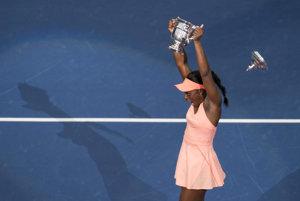Sloane Stephensová triumfovala na US Open 2018.