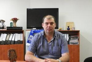 Prezident FK Plavnica Ján Solecký.