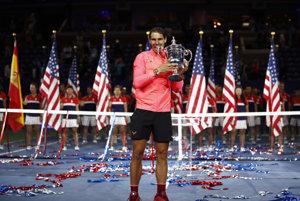 Rafael Nadal je víťazom US Open 2017.