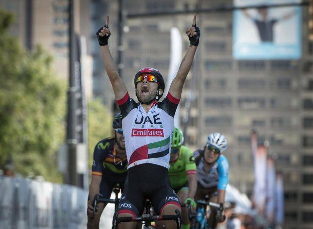 Diego Ulissi zvládol najlepšie záverečný dojazd do cieľa.