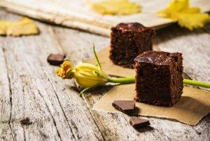 Čokoládové brownie s cuketou