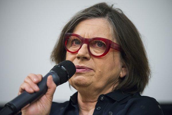 Herečka Zuzana Kronerová.