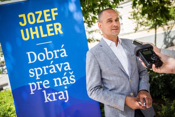 Kandidát na župana Jozef Uhler.