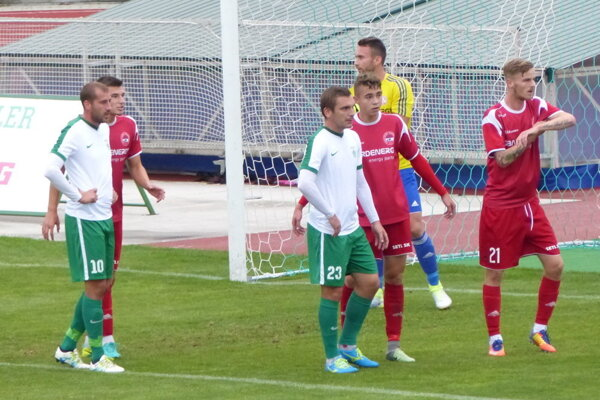 Na Záhorí rozhodol jediný gól. Po hodine hry ním zarmútil Bardejovčanov domáci Jakubek.