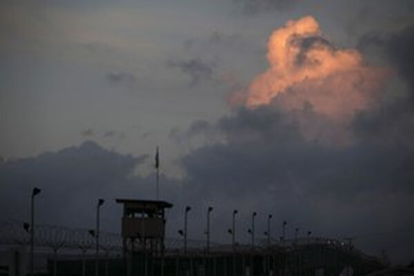 Strážna veža v Guantanáme.