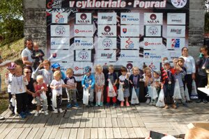 Cyklotrialisti sa na Slovenskom pohári potešili zo svojej účasti.