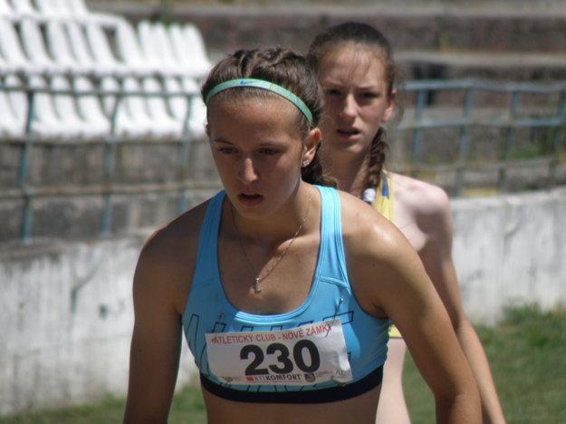Lea Farkas sa sústreďuje na svoj pokus v skoku do diaľky