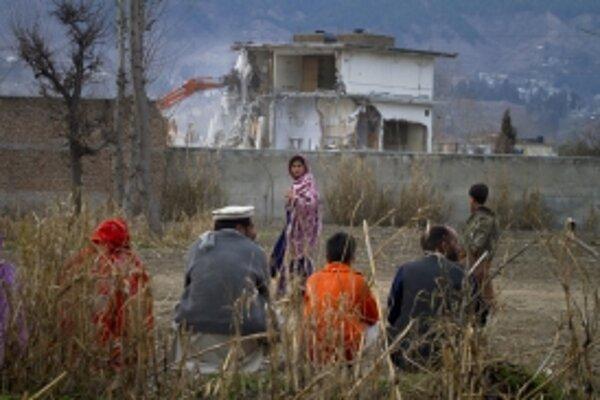 Pakistanské úrady vo februári zbúrali dom, kde sa ukrýval Usáma bin Ládin.