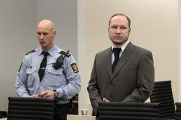 Nórsky atentátnik Anders Behring Breivik.