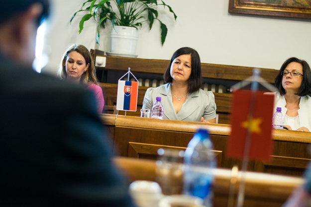 Erika Jurinová, kandidátka na predsedníčku Žilinského samosprávneho kraja.