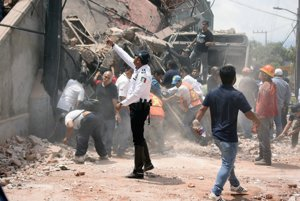 Mexiko zasiahlo ničivé zemetrasenie.