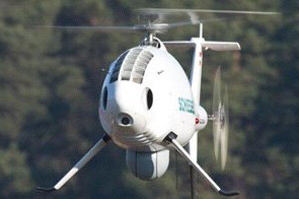 Helikoptéra typu S-100.