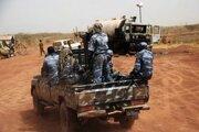 Sudánska armáda v hraničnom meste Heglig.