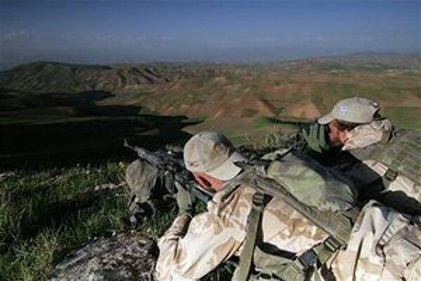 Českí vojaci v Afganistane.