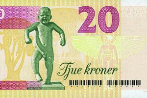 Pocta nórskemu sochárovi Gustavovi Vigelandovi.