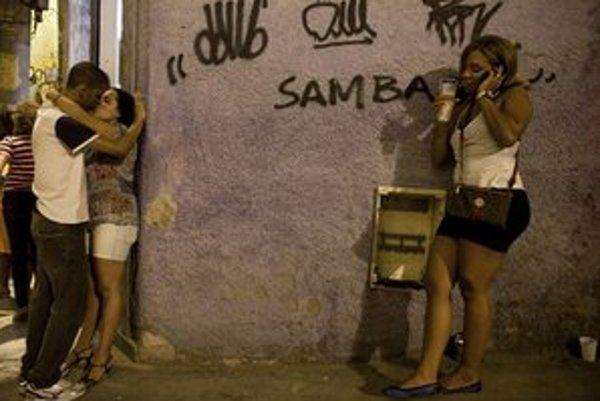 Prostitútky v Rio de Janeiru.