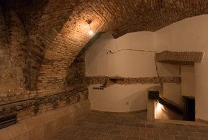 Pivnice v minulosti slúžili ako vináreň neďalekých Veľkých Františkánov.