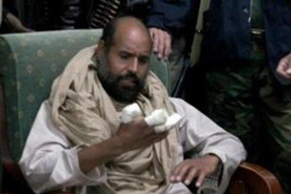 Syn zvrhnutého líbyjského vodcu Muammara Kaddáfího , Sajf Islám Kaddáfí.