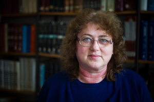 Vedkyňa Mária Omastová z Ústavu polymérov SAV v Bratislave.
