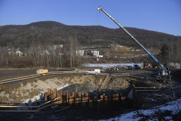 Modernizácia železničného úseku Púchov - Považská Bystrica - Považská Teplá pre rýchlosť 160 km, v časti Nosice 13. februára 2017