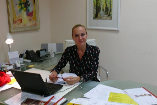Zuzana Ďurinová, generálna riaditeľka SLK Turčianske Teplice.
