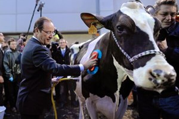 Favorit francúzskych prezidentských volieb François Hollande sa štylizuje ako nepriateľ finančného odvetvia.