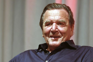 Bývalý nemecký kancelár Gerhard Schröder.