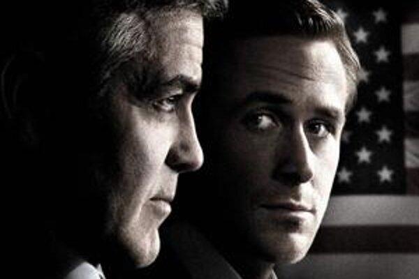 George Clooney a Ryan Gosling hrajú hlavné úlohy nového filmu o amerických prezidentských primárkach.