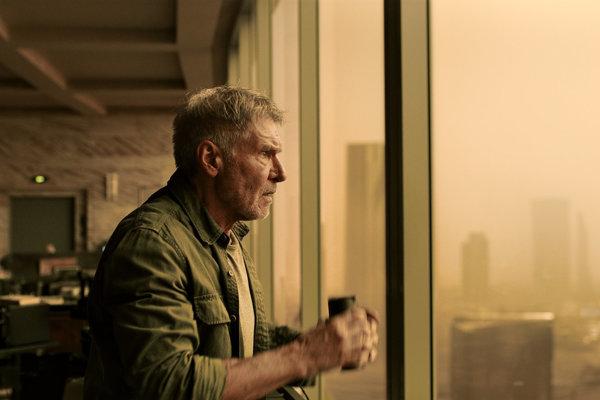 Harrison Ford vo filme Blade Runner 2049.
