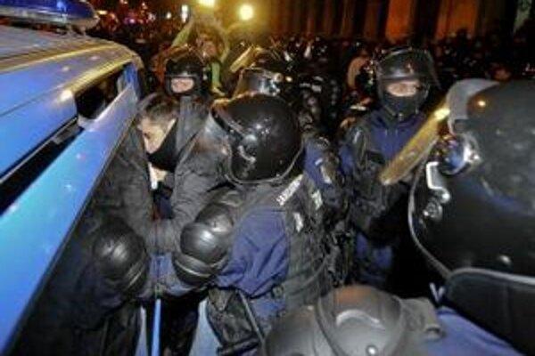 Protesty v Bukurešti.
