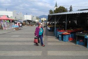 Martinská tržnica má už dva roky novú dlažbu.