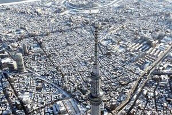Hlavné mesto Japonska má 13 miliónov obyvateľov.