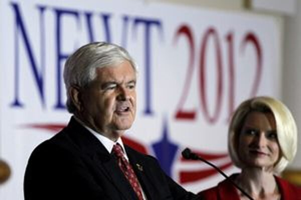 Newt Gingrich vytiahol v kampani vesmírny program.