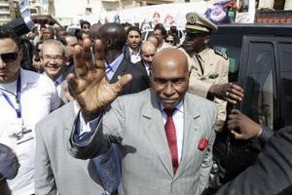 Prezident Abdoulay Wade.