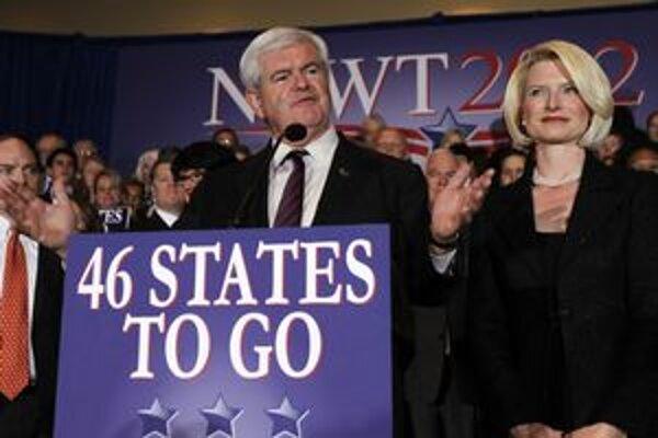 Newt Gingrich verí, že v ďalších primárkach bude úspešnejší.