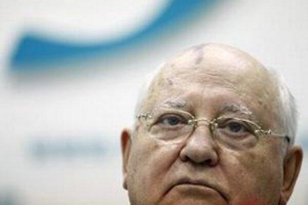 Bývalý prvý muž Sovietskeho zväzu, laureát Nobelovej ceny za mier Michail Gorbačov.