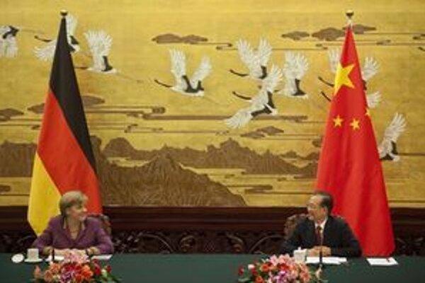 Nemecká kancelárka je na návšteve Číny.