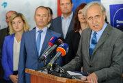 Kandidát pravicových strán na predsedu Nitrianskeho samosprávneho kraja (NSK) Ján Greššo.