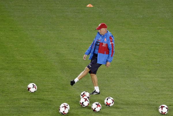 Karel Jarolím, tréner Česka.