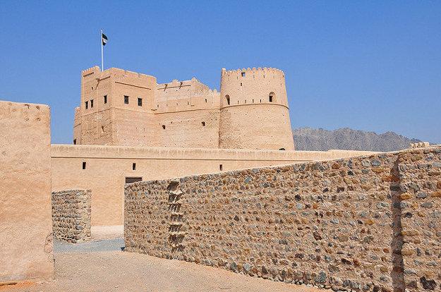 Pevnosť Fujairah.