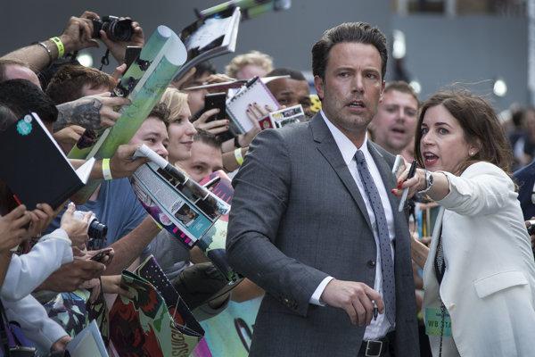 Ben Afflec, držiteľ Oscara za scenár k filmu Dobrý Will Hunting a za film Argo.