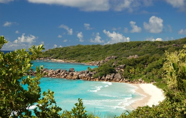 Rajský ostrov La Digue