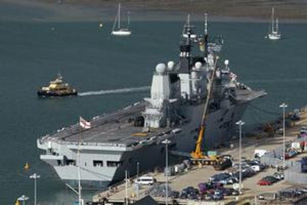 Lietadlová loď HMS Ark Royal skončila začiatkom tohto roka.