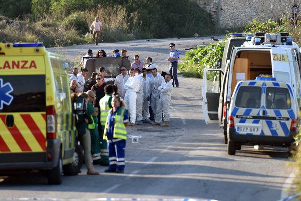 Daphne Caruanová Galiziová zomrela pri výbuchu auta.