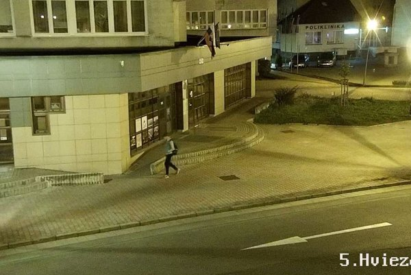 Chlapca spozorovali na Hviezdoslavovej ulici.