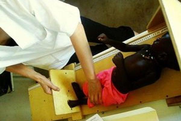V Mapuordite sa lekári často stretávajú s podvýživenými deťmi.